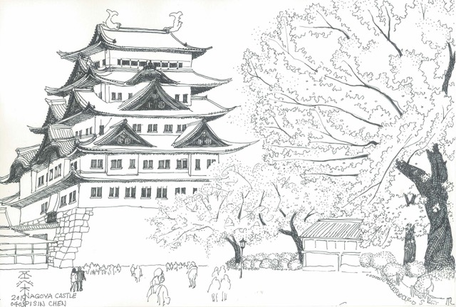 2019-Nagoya-Castle