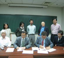 LeCosPA has signed Collaboration MOUs with ICRANet_2009 Oct. 30